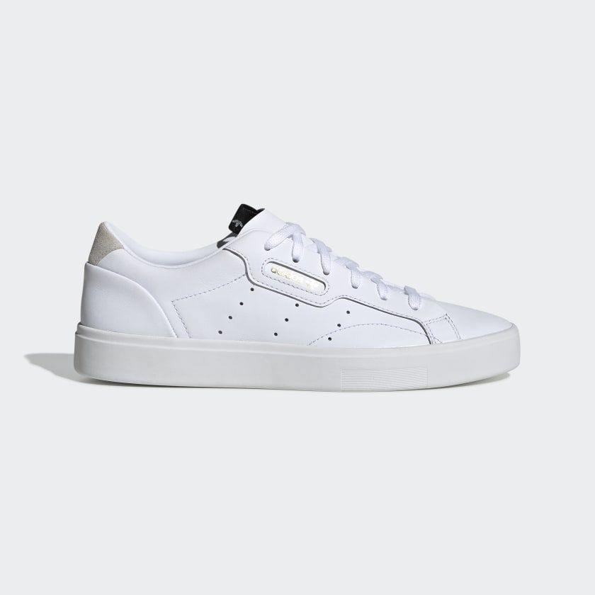 Margaret Mitchell granizo Colibrí  adidas Sapatos adidas Sleek - Branco   adidas Portugal   White adidas, Tenis  adidas, Casual shoes women
