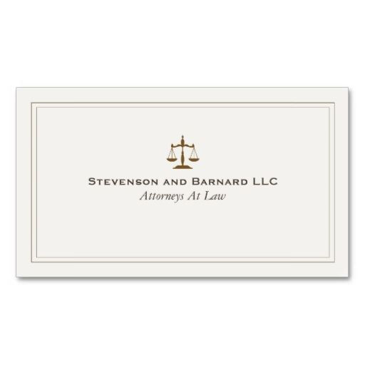 Classic Attorney Business Card. This is a fully customizable business card and available on several paper types for your needs. You can upload your own image or use the image as is. Just click this template to get started!