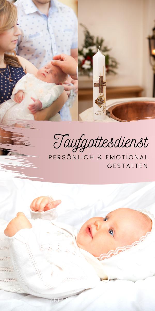 Photo of Machen Sie den Taufgottesdienst persönlich und emotional