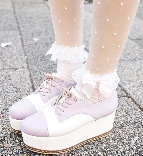 I like the tights and socks alpthough the shoes are weird