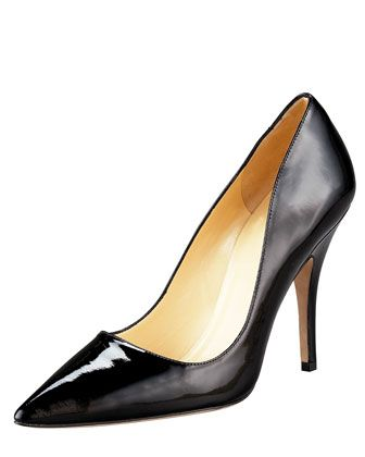67ffb89fde36 licorice pointed-toe pump by kate spade new york at Neiman Marcus ...