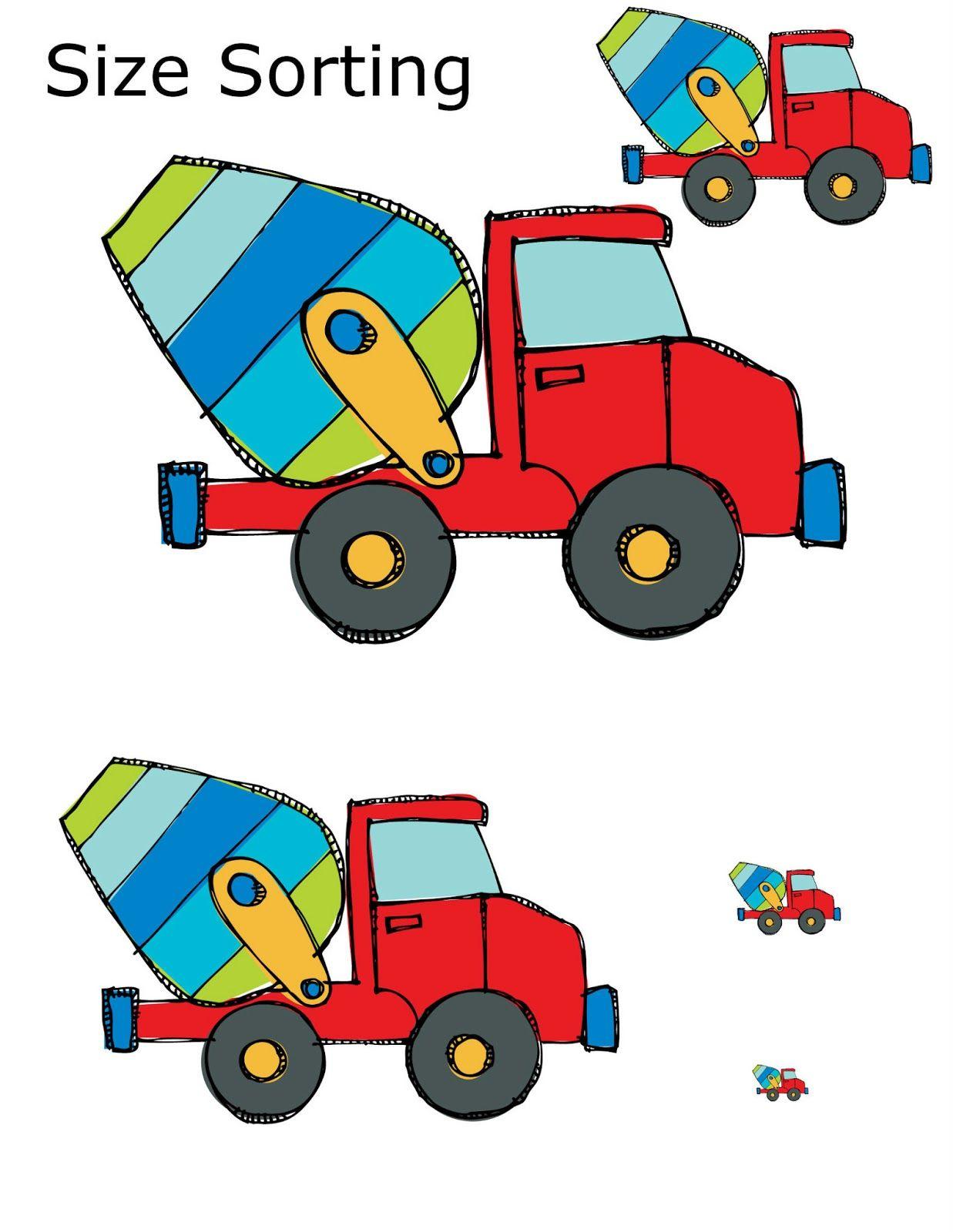 Preschool Powol Packets Construction Preschool Packet 3