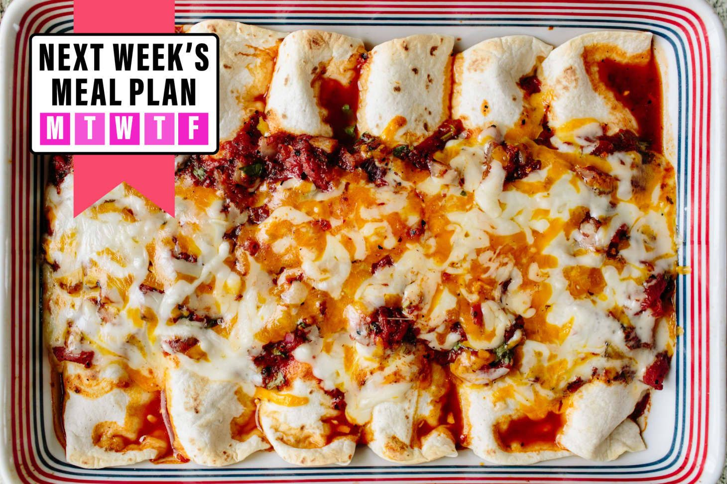 Next Week's Meal Plan: A Budget Meal Plan for a Family of Four images