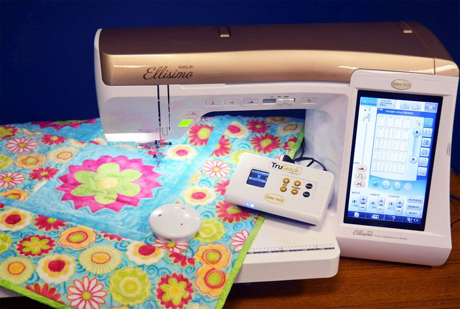 Baby Lock Trustitch Stitch Regulator Sewing Machine