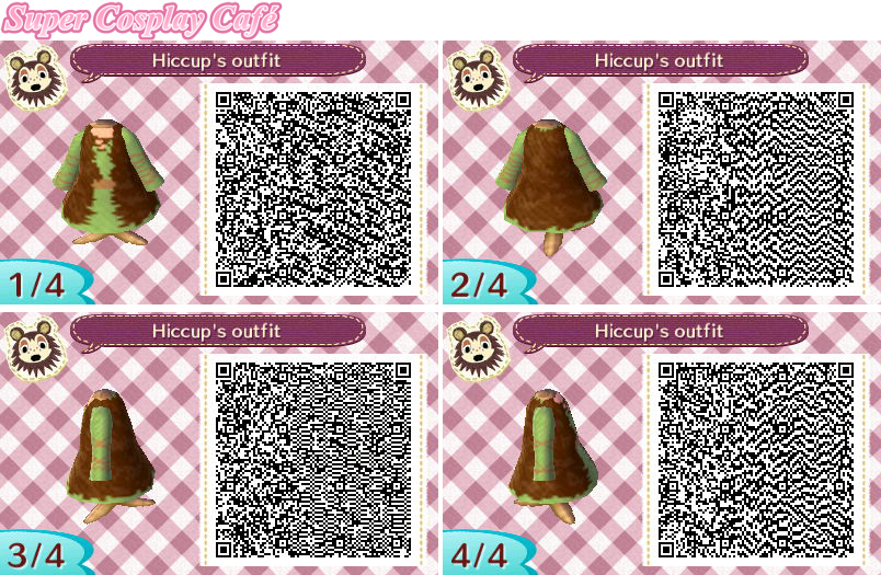 Hiccup S Outfit How To Train Your Dragon Animal Crossing New