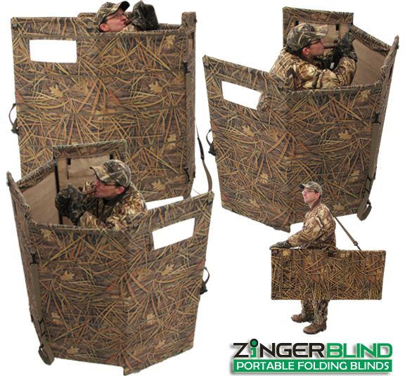 Homemade Portable Hunting Blinds