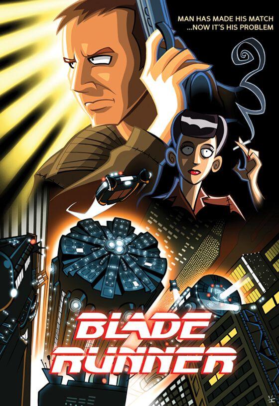 Posters de filmes cartoonizados - Geekverse