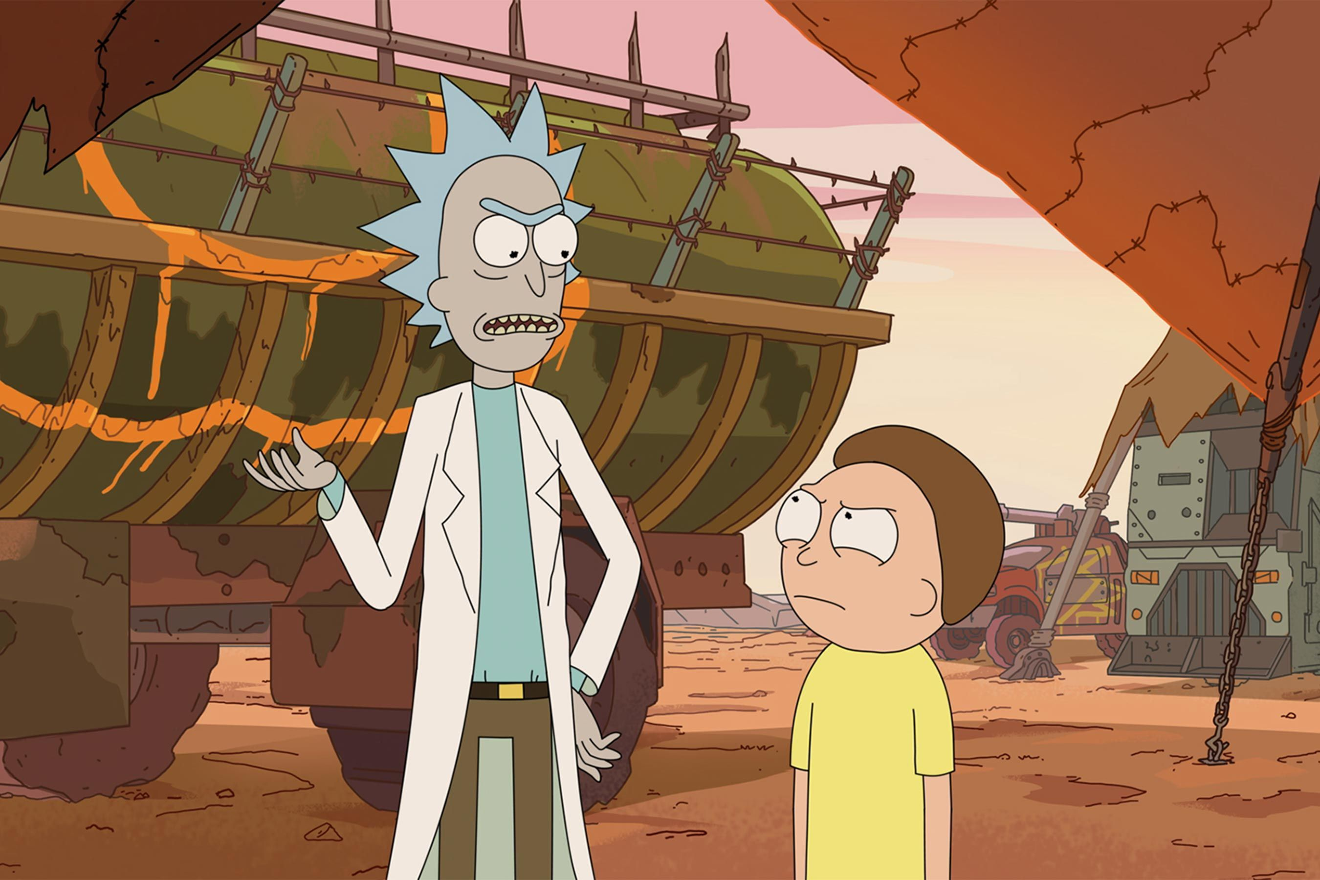 Rick And Morty Creators Give First Season 4 Interview It Will Never Be This Long Again Rick And Morty Season Watch Rick And Morty Rick And Morty