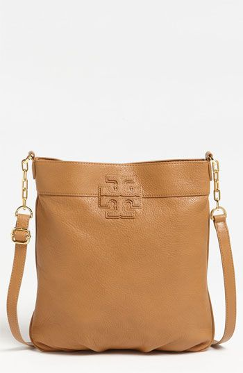 4a11ded27cfdaf Tory Burch 'Stacked T' Leather Book Bag available at Nordstrom | I ...