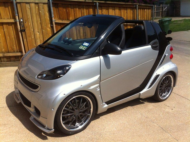 custom smart cars custom smart car body kits smart cars pinterest smart fortwo smart. Black Bedroom Furniture Sets. Home Design Ideas