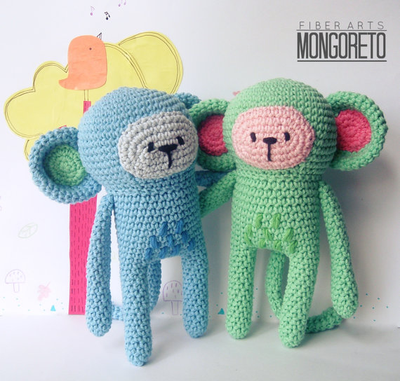 Monkey amigurumi pattern | Castellanos, Mono y Patrones
