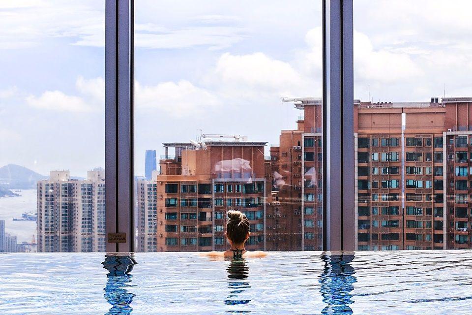 China Rooftop Pool At The W Hong Kong Hotel Kowloon Hong Kong Autonomous Region Of China The Hotel Is Loc Hong Kong Hotels Asia Travel Hotels And Resorts