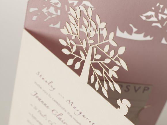 Cheap Laser Cut Wedding Invitations Uk: Bespoke Laser Cut Wedding & Event Stationery