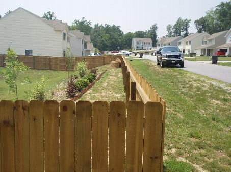 4 Dog Eared Stockade Fences Stockade Fence Fence Builders Dog Ear Fence
