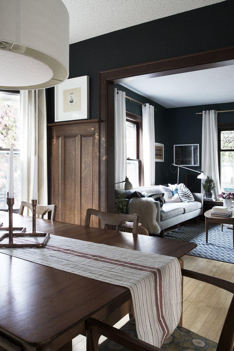 Truth : Dark Walls Luv Unpainted Woodwork | dream home ...