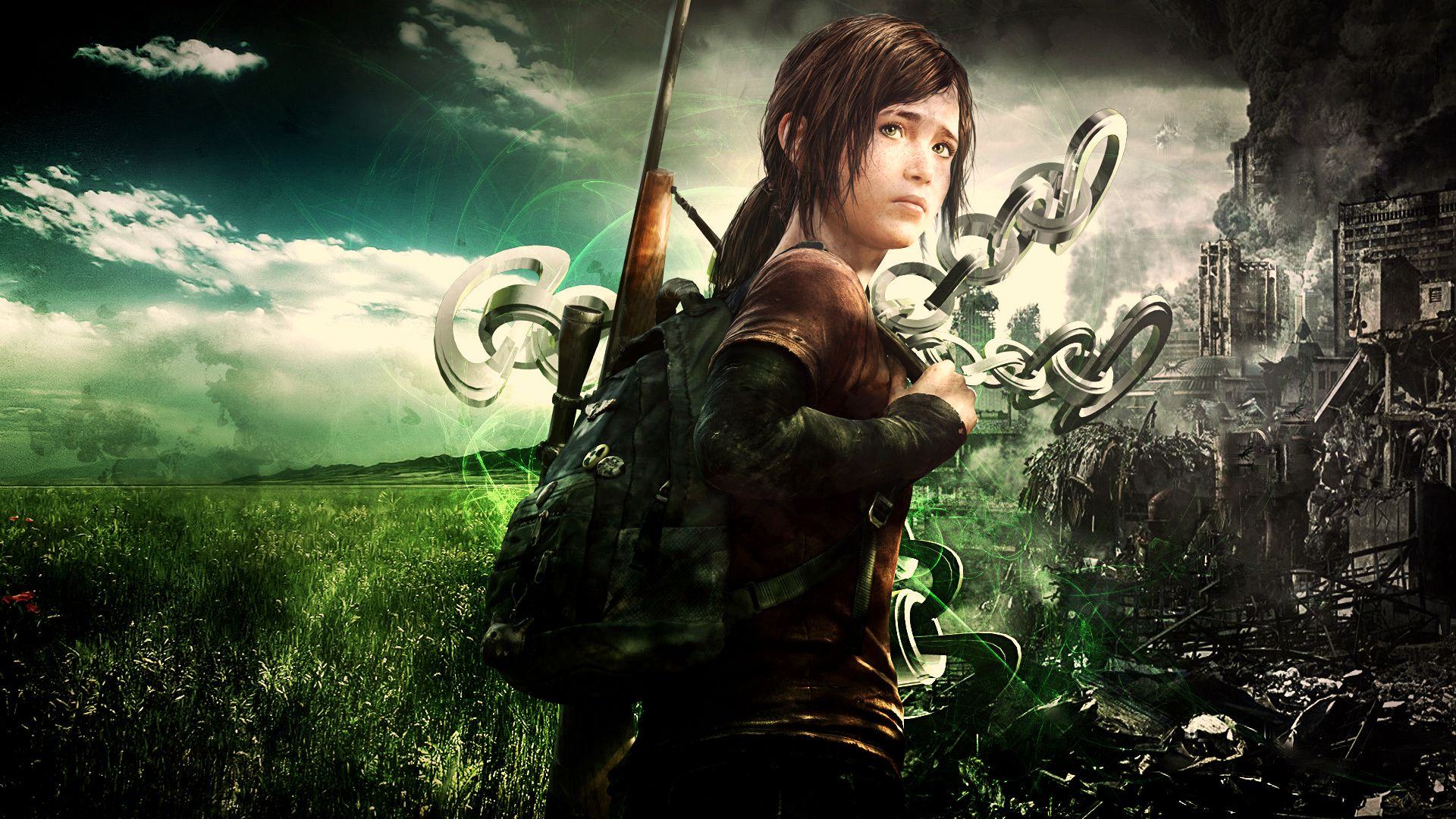82 The Last Of Us Wallpapers The Last Of Us Backgrounds The Last Of Us Girl Wallpaper Abstract Wallpaper