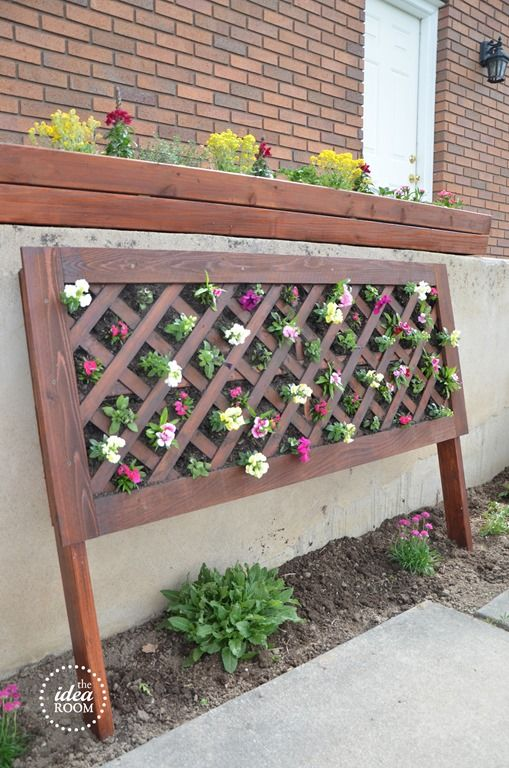 Exceptional DIY Vertical Flower Bed