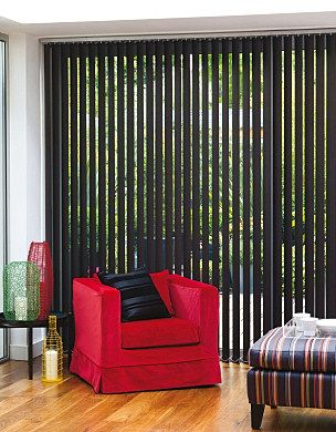 Beautiful Black Vertical Blinds   So Nice...except Iu0027m Not Sure If Itu0027s  Business Friendly. I Mean, They Wouldnu0027t Be Able To See Stuff In The Shop!