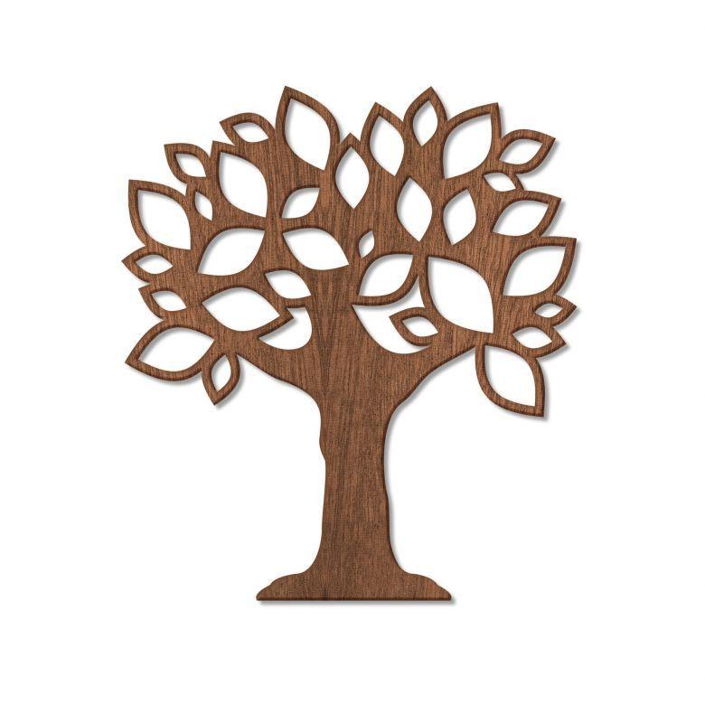 Houten Decoratie Boom Met Blaadjes In 2021 Holzkunst Mahagoni Holz
