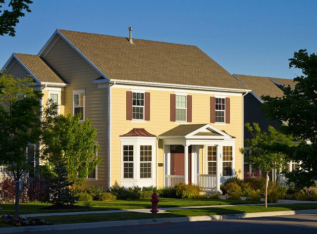 New Colonial Style Home Colonial Style Homes Utah Homes