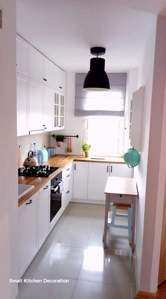 Small Kitchen Decoration Ideas Smallkitchendecor Small Apartment Kitchen Small Kitchen Decor Kitchen Remodel Small