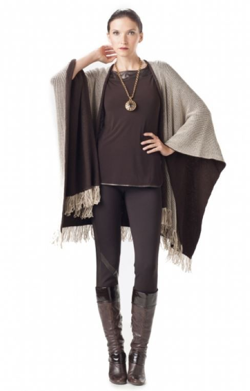 Cape style-34987 Top style-621N6567V Pant style-188N1224V
