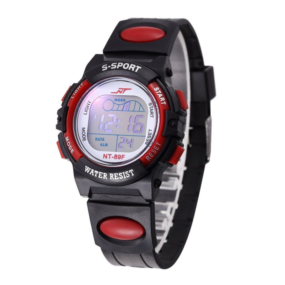 Watches Children Kids Watches Girls Boys Watches Analog Digital Sport Led Electronic Waterproof Wrist Watch New Montre Enfant