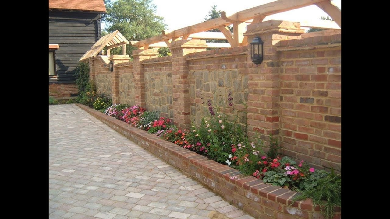 14 Beautiful Garden Ideas That Easy To Apply Brick Wall 400 x 300