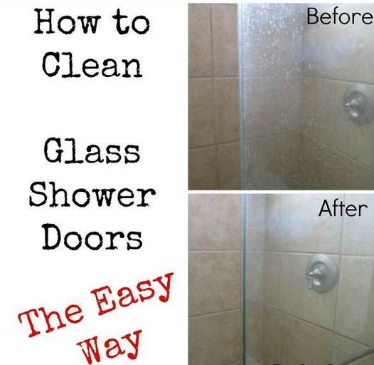 How To Fast And Easy Clean Glass Shower Doors Glass Shower