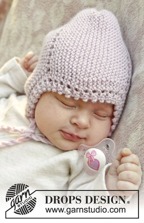 Узором вязание новорожденных шапочки путанка спицами для