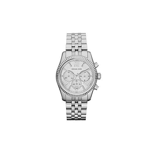 041cc40e0014 Michael Kors Womens Lexington Watch Silver One Size -- Click image for more  details.Note It is affiliate link to Amazon.