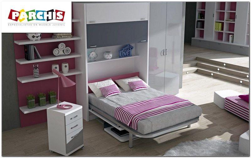 cama abatible vertical de 120x190 ideal para la On cambio de habitacion de los padres