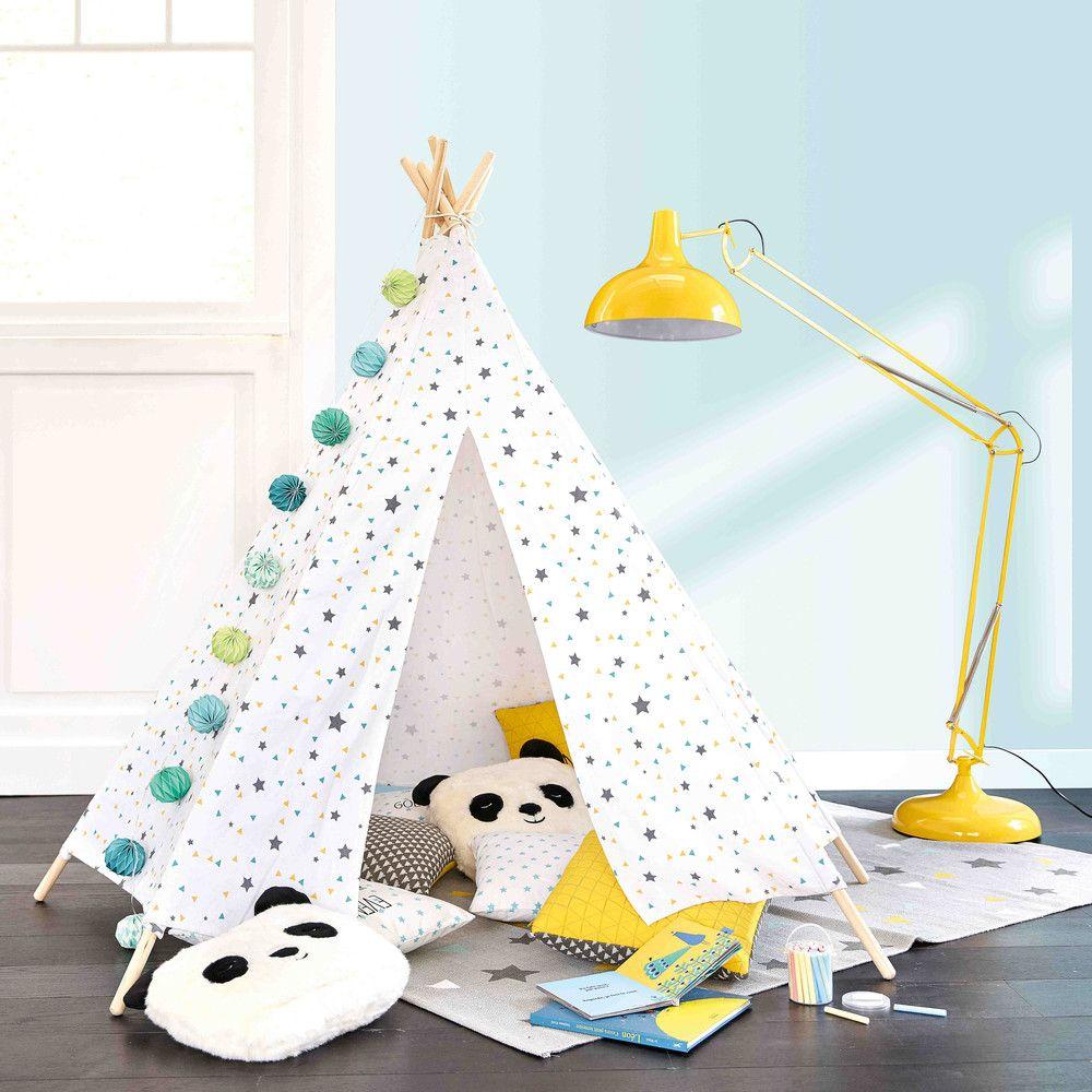 Tende Bambini Maison Du Monde.Tenda Indiana Per Bambini Con Motivi A Triangoli E Stelle Nuzzo