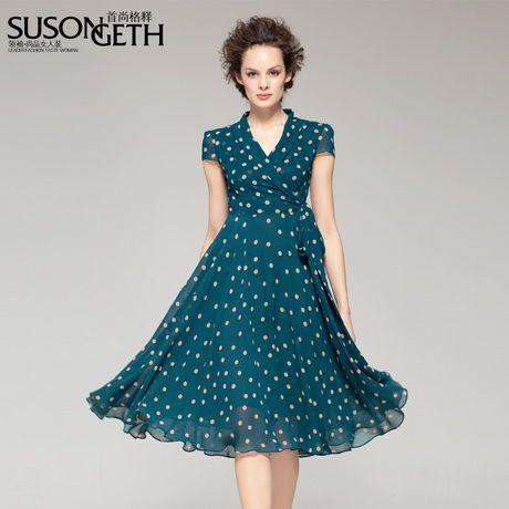 e6b4baf5e95f Knee length summer dresses   sport/fashion in 2019   Dresses, Summer ...