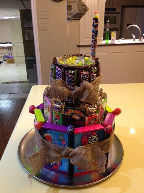 candy cake for my grandson...  :)
