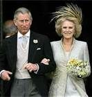 Celebrity Weddings--Prince Charles and Camilla Parker Bowles
