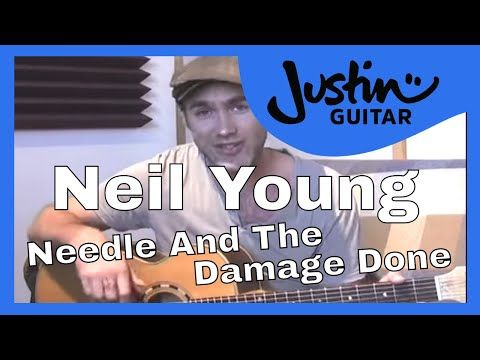 Needle And The Damage Done Neil Young 1of2 Songs Guitar Lesson