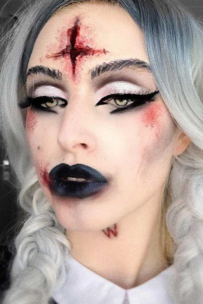 Photo of 27 Make-up-Ideen für glamouröse und sexy Vampire 2019 – #für #glamouröse #Ma…