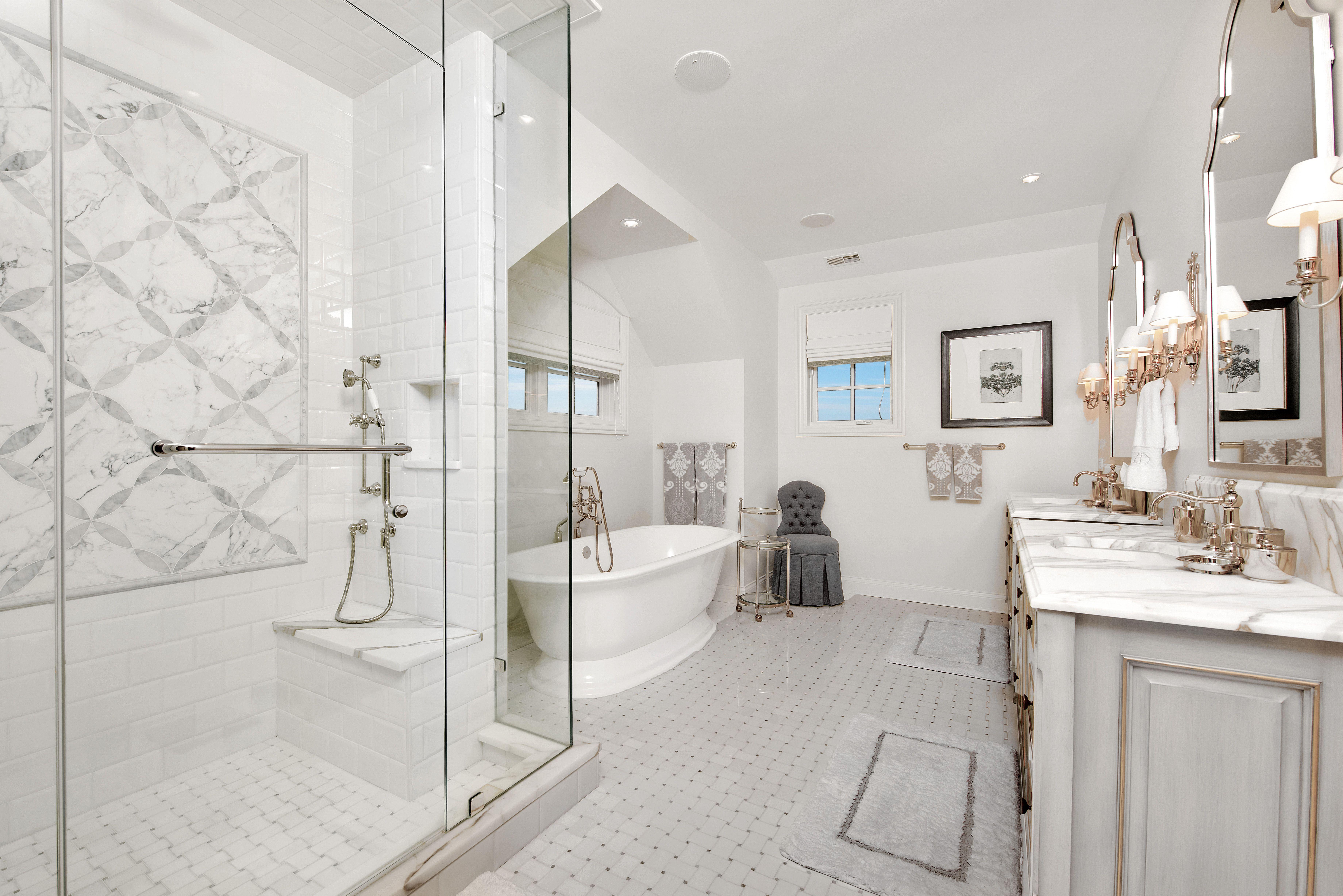 An Elegant Master Bath Is A Great Way, Elegant Master Bathrooms