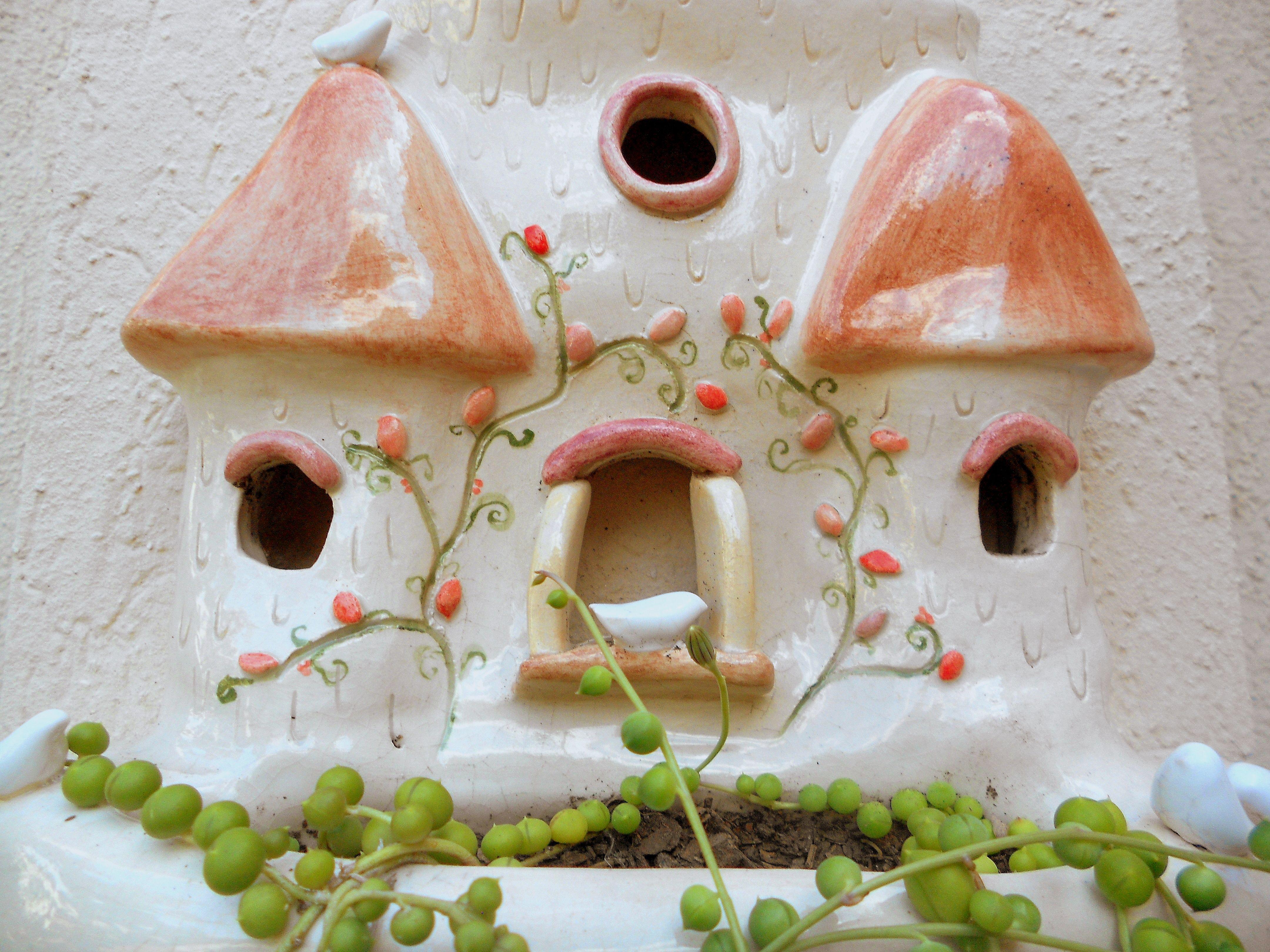 Caro A Handwork Castillo de aves, detalle. Edición Limitada