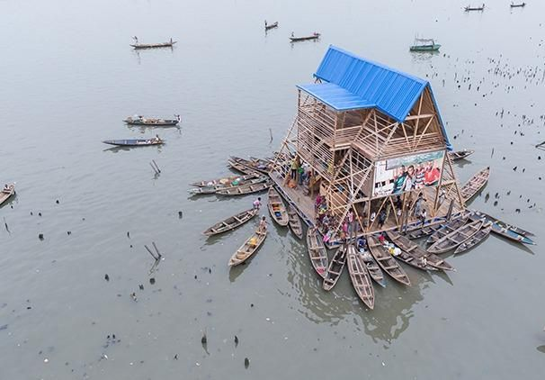 Learning from Lagos: Floating school, Makoko, Nigeria, Kunlé Adeyemi, NLÉ | Buildings | Architectural Review