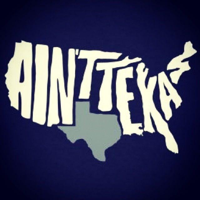 Texas Not Texas Map USA not TEXAS map | Texas humor, Texas forever, Texas girl