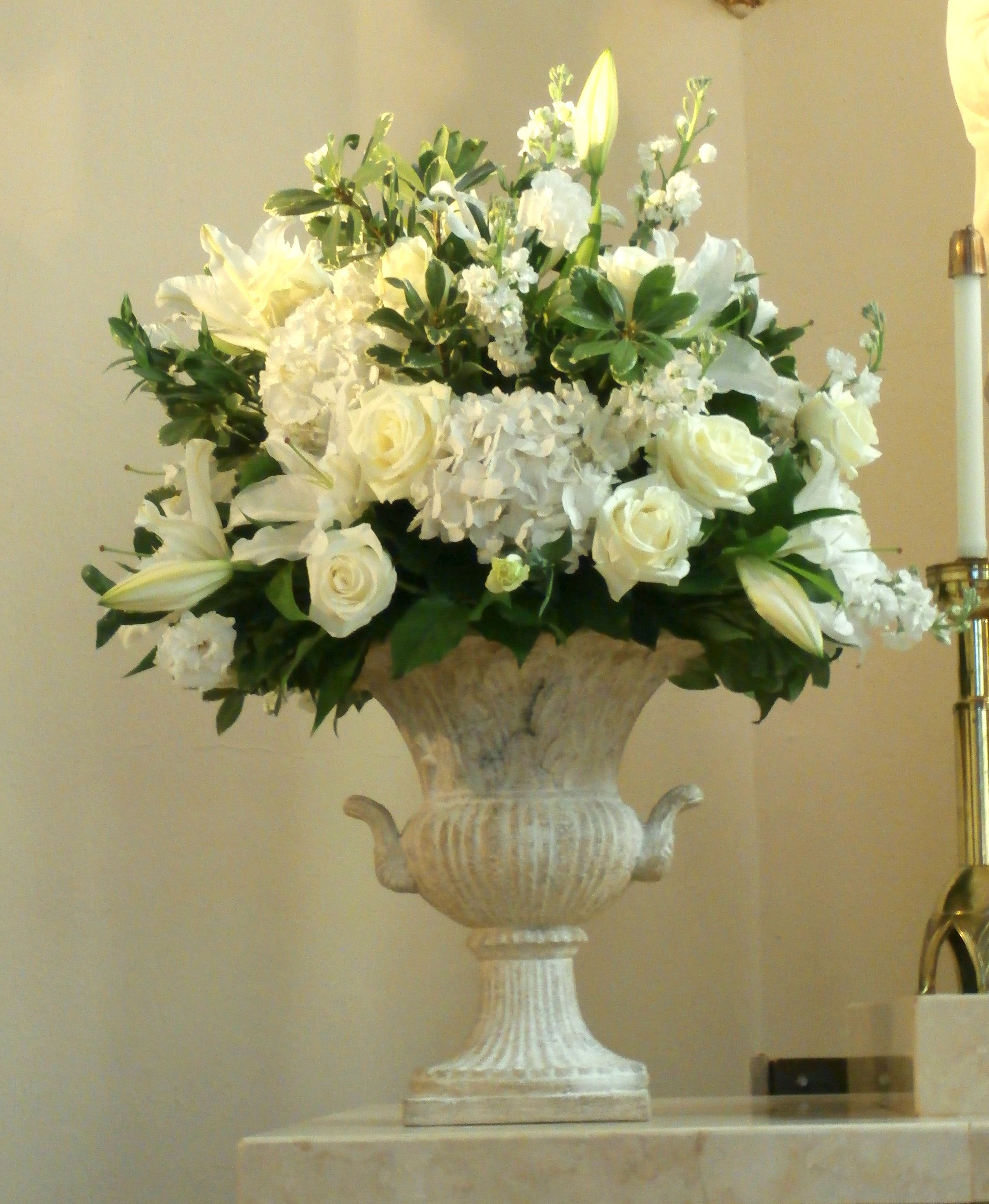 Floral Arrangements Altar Flowers
