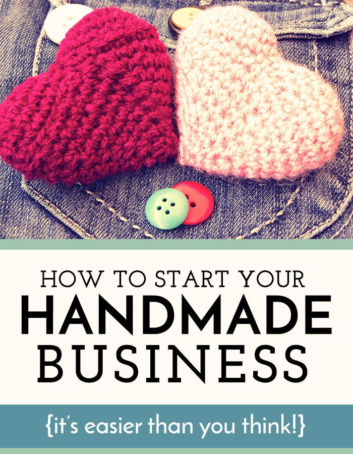 How to Start a Business Selling Handmade Items