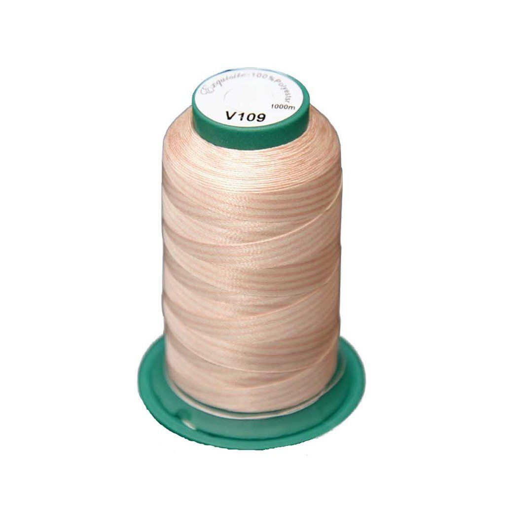 Medley Variegated Embroidery Thread - Desert Canyon 1000 Meters (V109) Medley Variegated 40 weight polyester embroidery thread by Exquisite combines premium quality thread with vibrant colors.