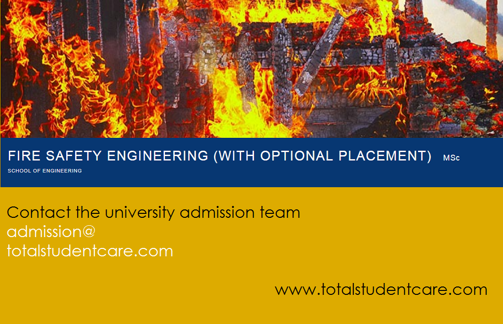 MSc Fire & Safety Engineering Study in the UK