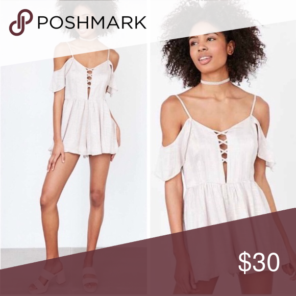 8ddb279c7c6 NWT Urban Outfitters Off Shoulder Romper