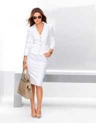 e8882426e Suit in color white  sizes 12 S 10 S 20 14 S 16 S 12 18 10 16 14 in  Madeleine Mode Onlineshop