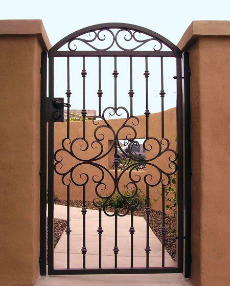 Home gates pinterest portail fer forg portail et fer forg for Deco portail fer forge