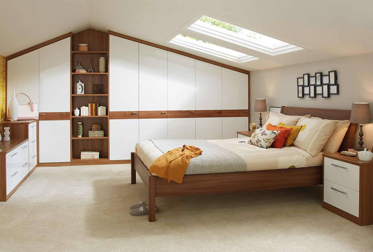 80s master bedroom  Wardrobes in the Horizon bedroom furniture range can be designed to